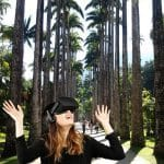 360 VR garden and greenhouses tours